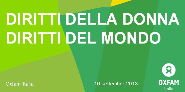 XVII° Meeting Diritti Umani Diritti Della Donna, Diritti Del Mondo