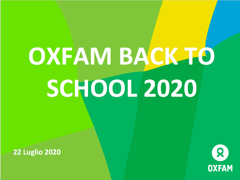 OXFAM BACK TO SCHOOL  2020/21